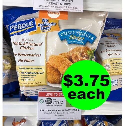 Publix Deal: 😋 $3.75 Perdue Frozen Chicken Bags (Reg. $9)! (Ends 12/18 or 12/19)