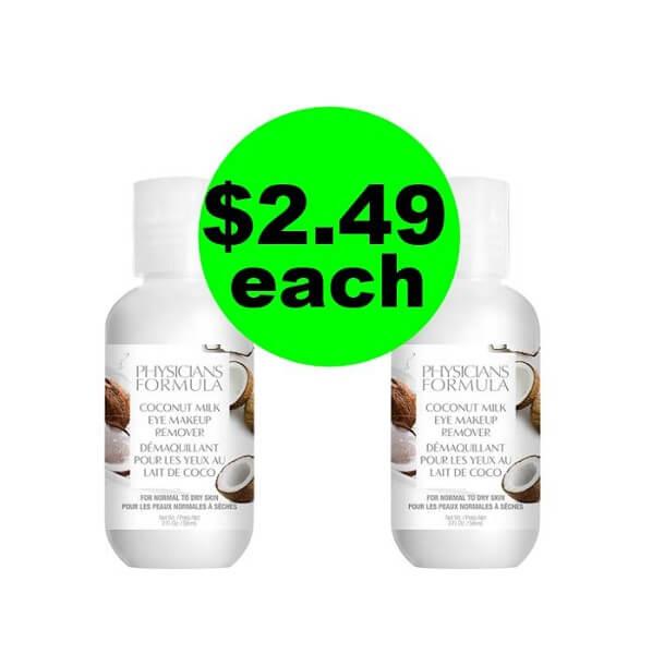 CVS Deal: 🤩 $2.49 Physicians Formula Eye Makeup Remover (No Coupons Needed)! (4/21-4/27)