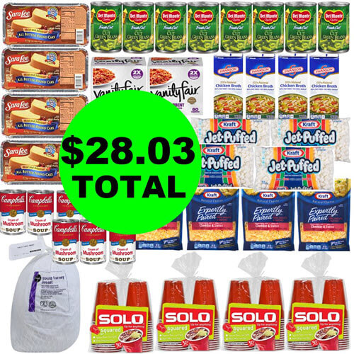 Publix Deal: $28.03 For (41) Food & Beverage Items! 🦃 (11/14-11/21 or 11/15-11/21)