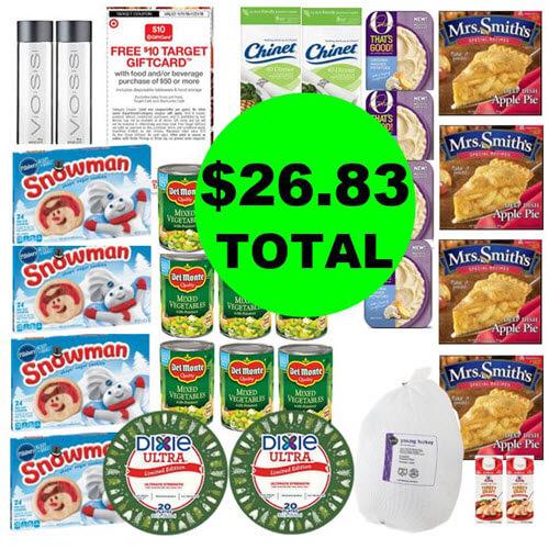 Publix Deal: 🦃 $26.83 Total For (29) Food & Beverage Items! (Ends 11/13 or 11/14)