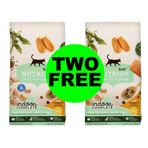 Publix Money Maker Deal: 😻 (2) FREE + $3.41 Money Maker On Rachael Ray Nutrish Cat Food! (11/23-11/27 or 11/28)