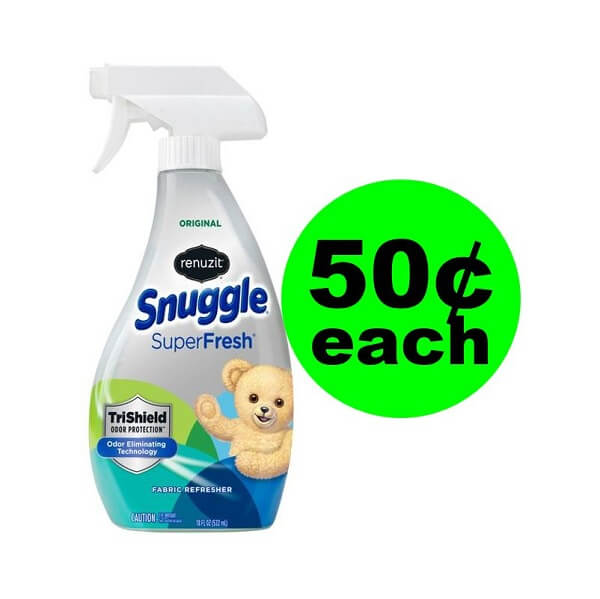 Publix Deal: 🐻 50¢ Snuggle Fabric Refresher (After Ibotta)! (5/1-5/7 Or 5/2-5/8)