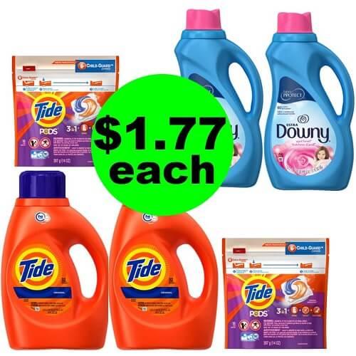CVS Deal: ? $1.77 Tide, Tide Pods & Downy Softener (After Ibotta)! (12/30-1/5)