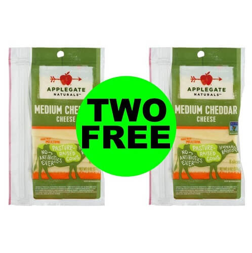 Sneak Peek Publix Deal: ? (2) FREE + 41¢ Money Maker On Applegate Cheese Slices (After Ibotta)! (1/2-1/8 or 1/3-1/9)