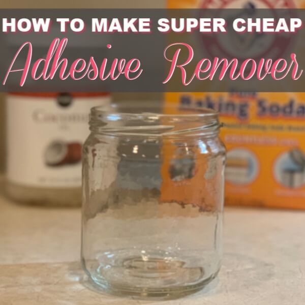 How To Make DIY Adhesive Remover – Just 2 Ingredients