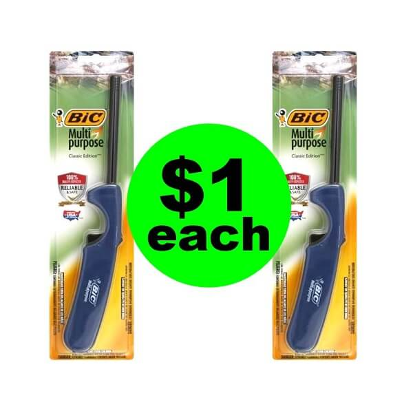 Sneak Peek Publix Deal: 🕯️ $1 Bic Multipurpose Lighters! (5/22 Or 5/23-5/24)