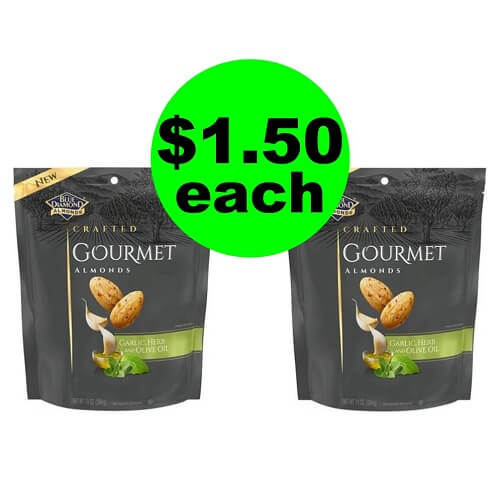 CVS Deal: $1.50 Blue Diamond Gourmet Almonds (Reg. $5)! (12/9-12/15)