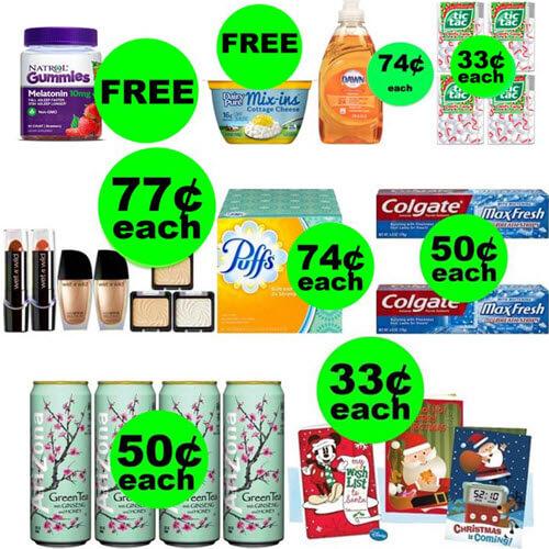 CVS Deals: Don't Miss 😎 2 FREEbies Plus 7 Deals $.77 Or Less At CVS! (Ends 12/15)