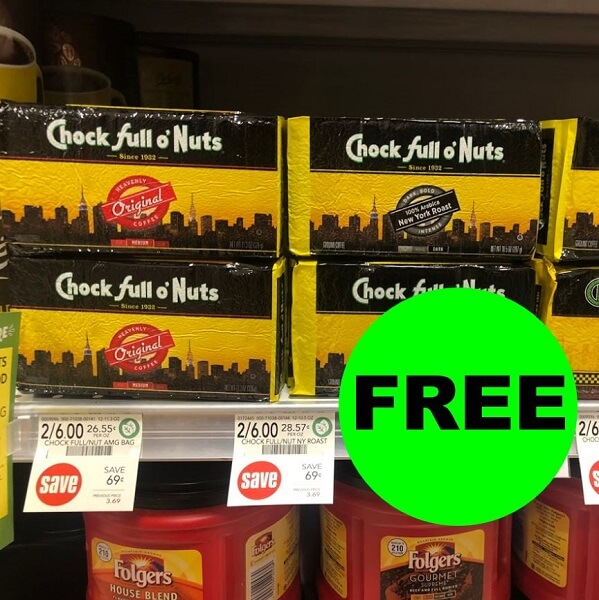 Publix Deal: FREE Chock Full o'Nuts Coffee! (Ends 11/22)