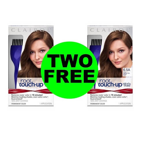 CVS Deal: ?‍♀️ (2) FREE + $1.01 Money Maker On Clairol Root Touch Up (After Ibotta)! (12/16-12/22)