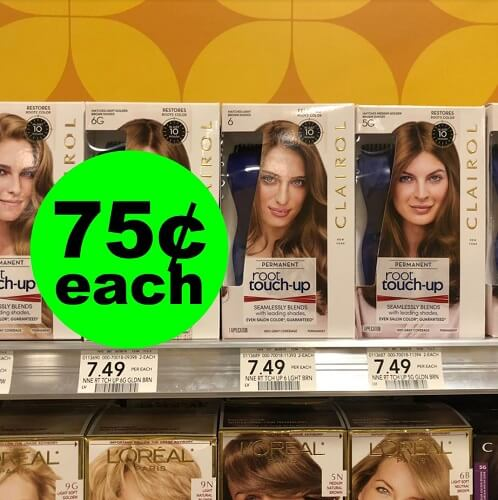 Publix Deal: ??? 75¢ Clairol Permanent Root Touch Up (After Ibotta)!