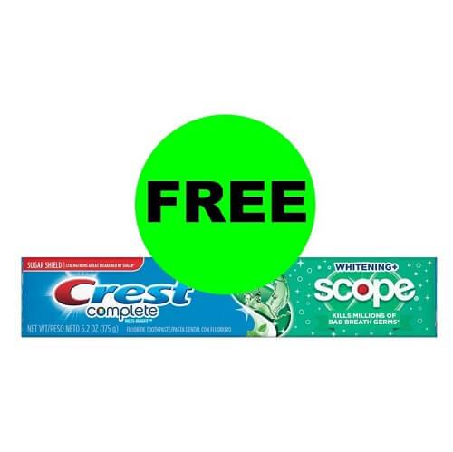 Sneak Peek CVS Deal: 😁 FREE Crest Toothpaste! (3/10-3/16)