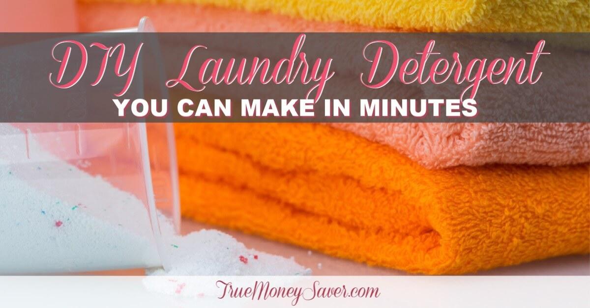 how to make liquid detergent from powder