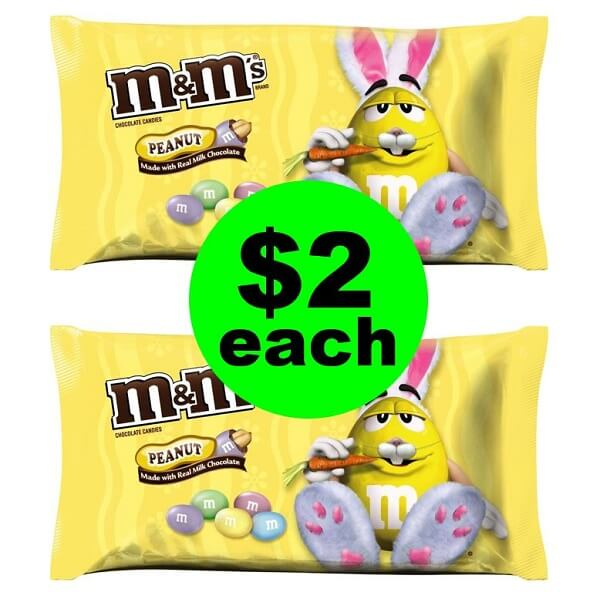 CVS Deal: 🐇 $2 M&M's Candy Bags! (3/24-3/30)