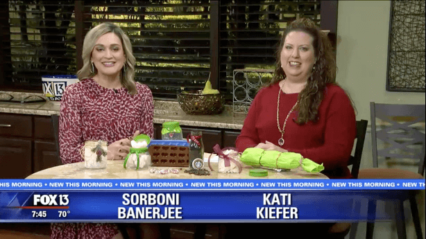Fox TV Replay: DIY Christmas Gifts – Food Gifts That Cost Nearly Nothing To Give