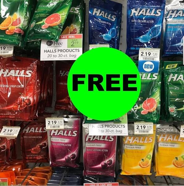Sneak Peek Publix Deal: (2) FREE + 31¢ Money Maker On Halls Cough Drops! (11/20-11/27 Or 11/21-11/27)