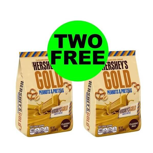 Sneak Peek CVS Deal: 🍫 Print For 2 FREE Hershey's Gold Candy Bags! (2/3-2/9)
