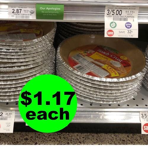 Publix Deal: ? $1.17 Keebler Graham Pie Crusts! (Ends 12/21)