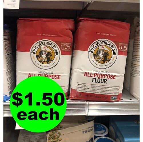 Publix Deal: 🥟 $1.50 King Arthur Flour! (Ends 12/18 or 12/19)