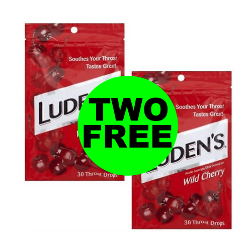 CVS Deal: ? (2) FREE Luden's Cough Drops! (12/16-12/22)