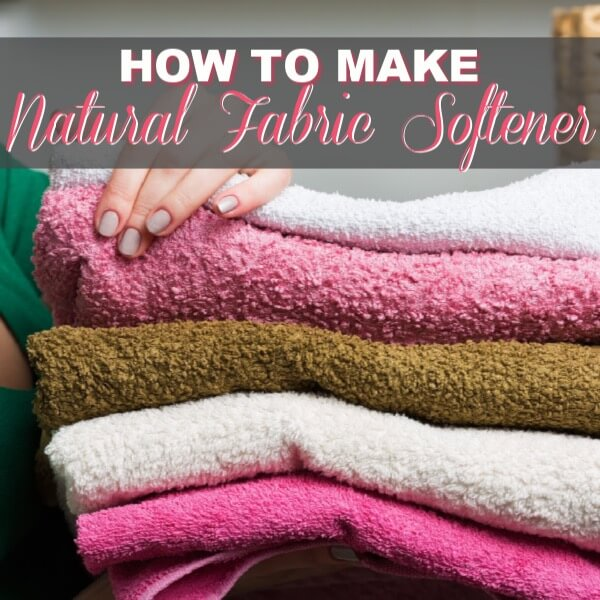How To Make A Natural Fabric Softener Right Now