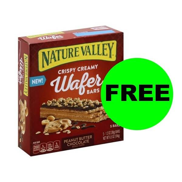 "Publix Deal: ""Clip"" For FREE Nature Valley Wafer Bars! (Ends 9/4)"