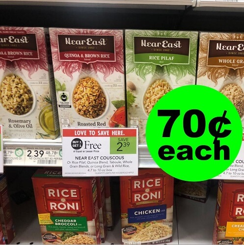 Publix Deal: 🍚 Near East Rice Products As Low As 70¢ Each (After Ibotta)! (Ends 12/18 or 12/19)