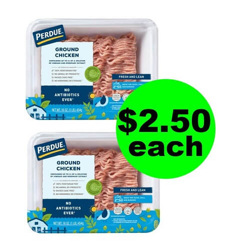 Publix Deal: $2.50 Perdue Ground Chicken Pound! (Ends 6/11 Or 6/12)