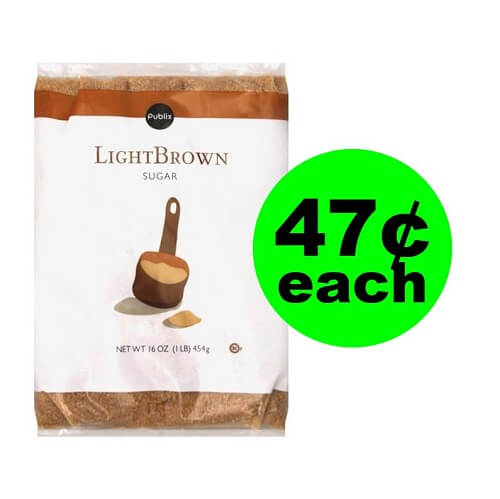 Publix Deal: ? 47¢ Publix Brown or Confectioner