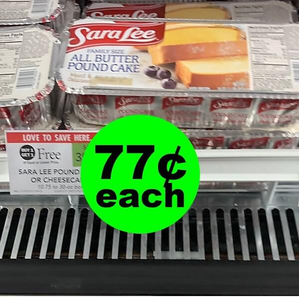 Publix Deal: 🍰 Sara Lee Products As Low As 77¢ Each (After Ibotta)! (Ends 5/14 Or 5/15)
