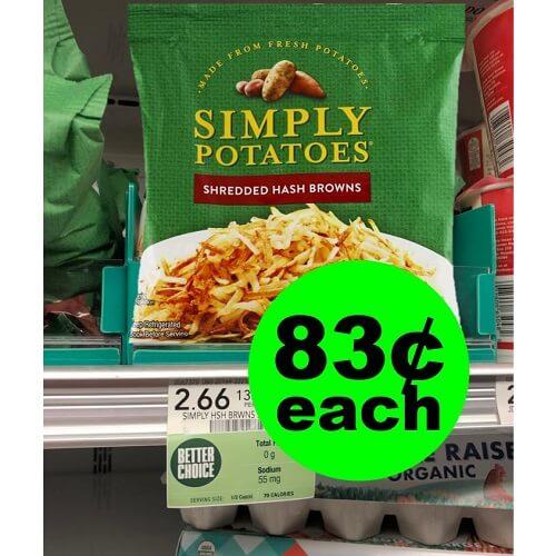 Publix Deal: ? 83¢ Simply Potatoes! (12/5-12/11 or 12/6-12/12)