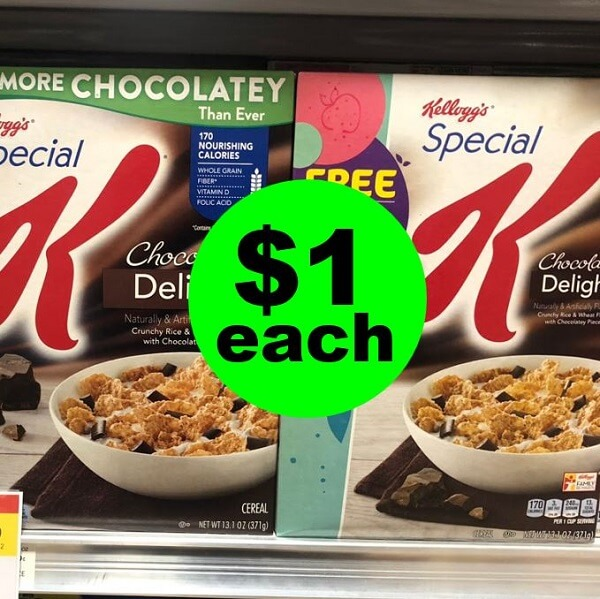 Publix Deal: 🥣 $1 Kellogg's Special K Cereal (After Ibotta)! (Ends 4/22)