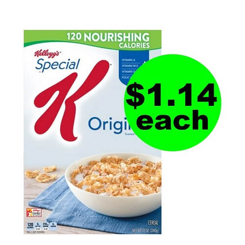 Sneak Peek CVS Deal: ? $1.14 Kellogg's Special K Cereal (After Ibotta)! (12/30-1/5)