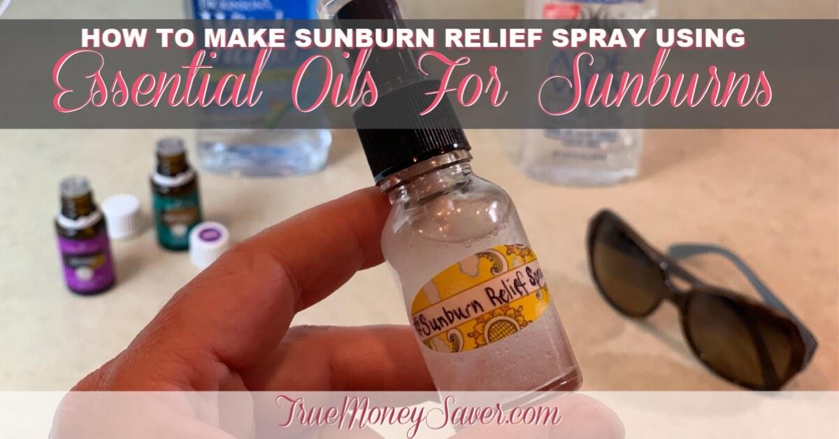 Essential Oils For Sunburns