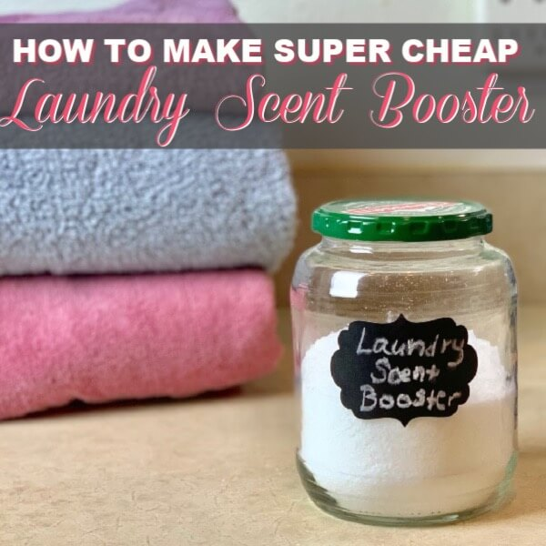 How To Make Super Cheap Laundry Scent Boosters