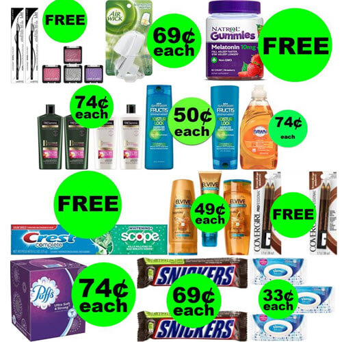 CVS Deals: Don't Miss 😍 11 FREEbies Plus 8 Deals 74¢ Each Or Less! (Ends 1/19)