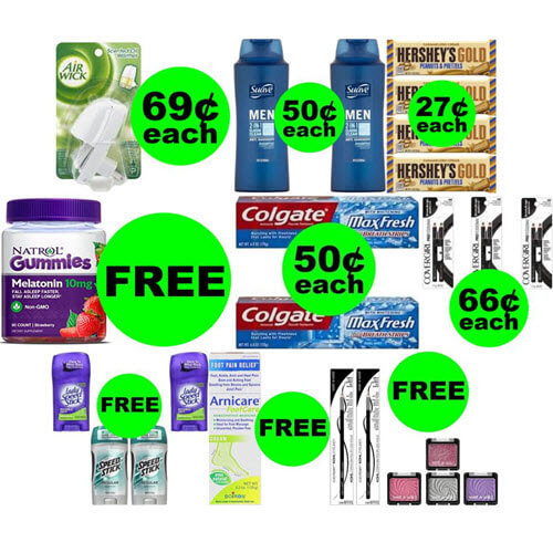 CVS Deals: 😍 13 FREEbies Plus 5 Deals $.69 Or Less At CVS! (Ends 1/26)