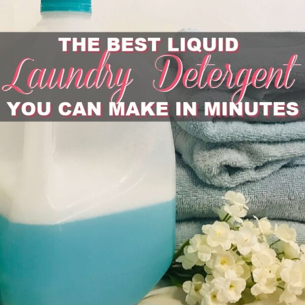 The Best Liquid Laundry Detergent You Can DIY In Minutes