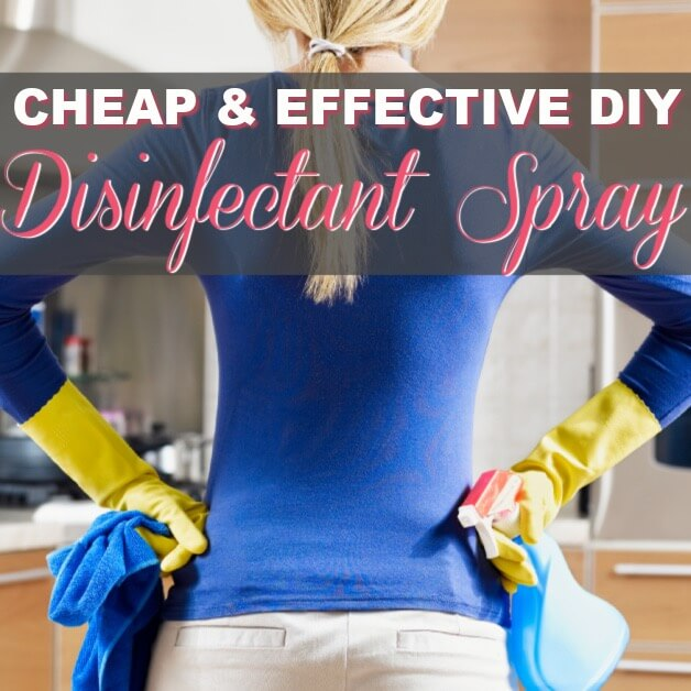 The Best DIY Disinfectant Spray To Make This Year