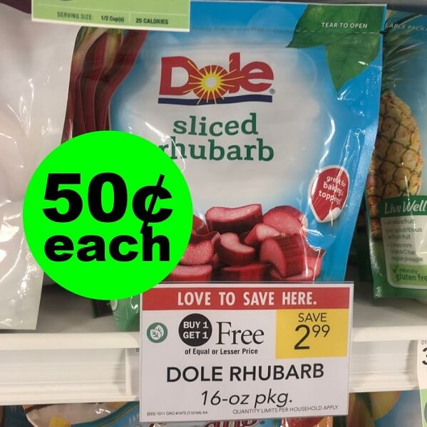 Sneak Peek Publix Deal: 🍓 Dole Frozen Fruit Bags As Low As 50¢ Each (83% Off)! (5/8-5/14 Or 5/9-5/15)