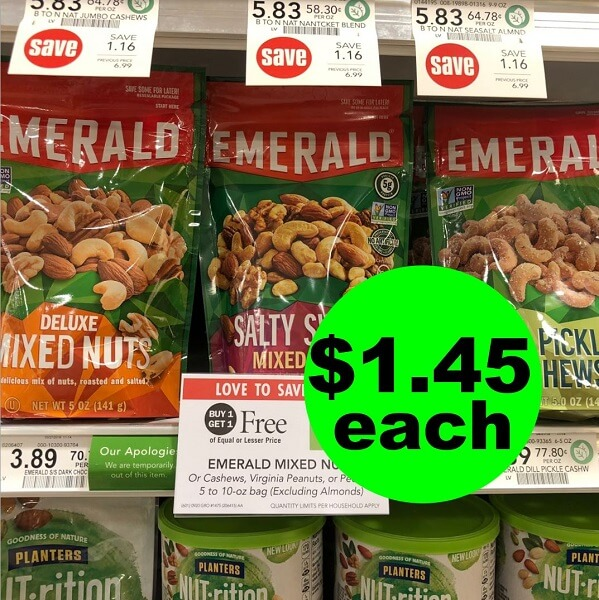 Publix Deal: 🥜 Print Now For $1.45 Emerald Nuts! (1/30-2/5 or 1/31-2/6)