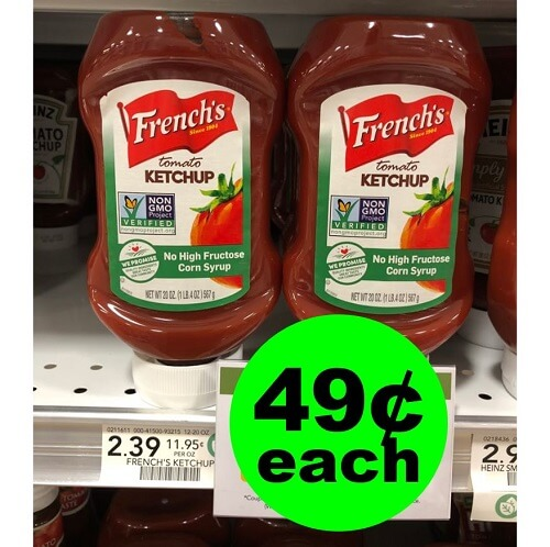 Publix Deal: 🍅 49¢ French's Ketchup! (1/19-2/1)