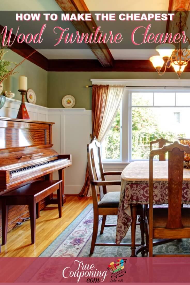 Wood Furniture Cleaner