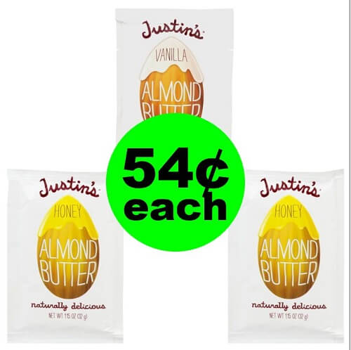 Publix Deal: 🥜 54¢ Justin's Nut Butter Packs (After Ibotta)!