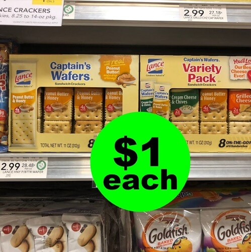 Publix Deal: 🍪 $1 Lance Cracker & Cookie Multipacks! (Ends 1/15 or 1/16)