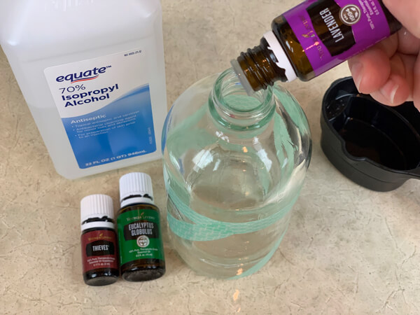 essential oil for colds and flu
