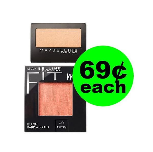 CVS Deal: 😚 69¢ Maybelline Eyeshadow & Blush! (3/24-3/30)