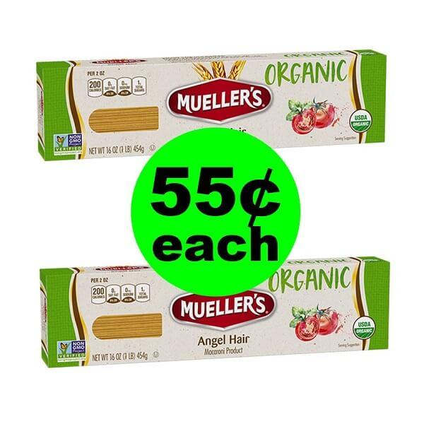 Publix Deal: 🍝 55¢ Mueller's Organic Pasta! (Ends 4/9 Or 4/10)