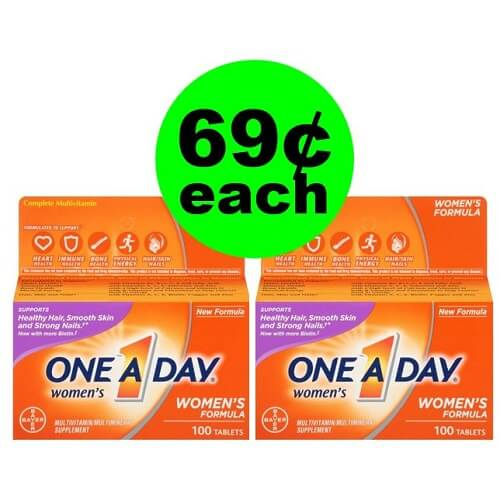 Publix Deal: 🤸♀️ Print For 69¢ One A Day Vitamins! (1/2-1/8 or 1/3-1/9)