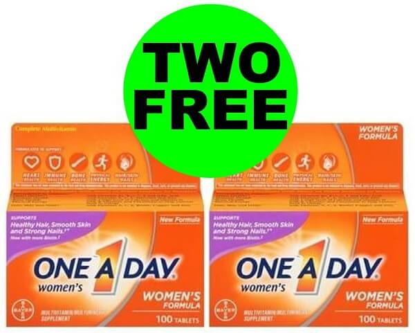 Sneak Peek Publix Deal: (2) FREE + $1.34 Money Maker One A Day Vitamins! (1/8 Or 1/9-1/10)